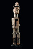 "Standing male magical figure ""biteki"", D. R. Congo, Teke"