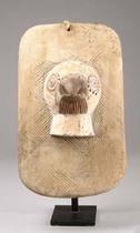 Divination board with bird, D. R. Congo, Luba