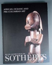 African, Oceanic and Pre-Columbian Art, Literature: Auction catalogues, Sotheby&#039;s New York