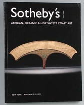 African, Oceanic &amp; Northwest Coast Art, Literature: Auction catalogues, Sotheby&#039;s New York