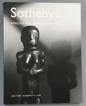 African and Oceanic Art, Literature: Auction catalogues, Sotheby&#039;s New York