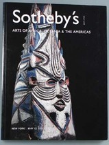Arts of Africa, Oceania & The Americas, Literatur: Auktionskataloge, Sotheby's New York