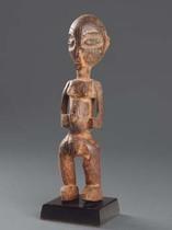 Standing female figure, D. R. Congo, Luba