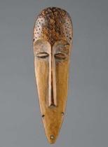 "Miniature mask ""lukwakongo"", D. R. Congo, Lega"
