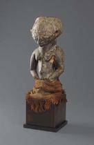 Magical half figure, D. R. Congo, Luba