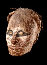 Ancestor skull, Papua New Guinea, Iatmul