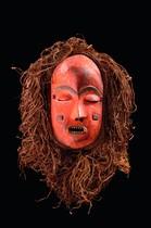 Face mask, D. R. Congo, Pende