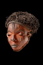 "Mask ""mbuya"", D. R. Congo, Pende"