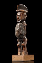 "Small power figure ""biteki"", D. R. Congo, Teke"