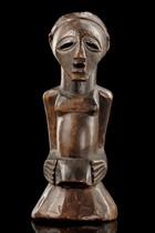 "Magical half figure ""nkisi"", D. R. Congo, Songe"