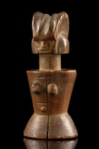 "Fertility doll ""mwana hiti"", Tanzania, Zaramo"