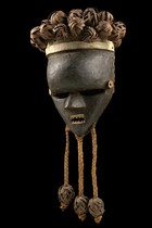 "Mask  ""mukinka"", D. R. Congo, Salampasu"