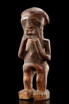 "Magical figure ""nkisi"", D. R. Congo, Songe"