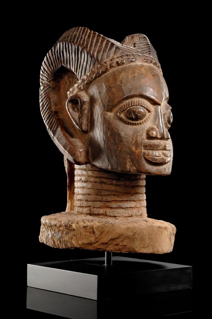 Yoruba Osanmasinmi Sacred Ram S Head Owo Nigeria Http