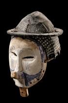 "Mask ""ndeemba"", D. R. Congo, Yaka"