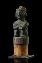 Figural stopper, Indonesia - Borneo, Dayak
