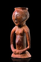 Magical half figure, D. R. Congo, Luba