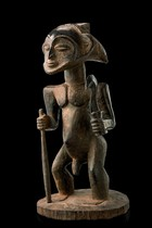 Male ancestor figure &quot;singiti&quot;, D. R. Congo, Hemba