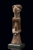 Small male oracle figure, D. R. Congo, Luba