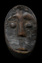 Miniature mask &quot;lukwakongo&quot;, D. R. Congo, Lega
