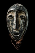 Mask &quot;idimu&quot;, D. R. Congo, Lega