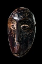 Mask &quot;idimiu&quot;, D. R. Congo, Lega