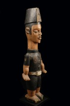 Colon figure: soldier, Nigeria, Ibibio