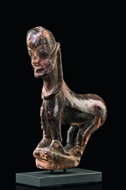 Zoomorphic figure, Indonesia - Borneo, Dayak