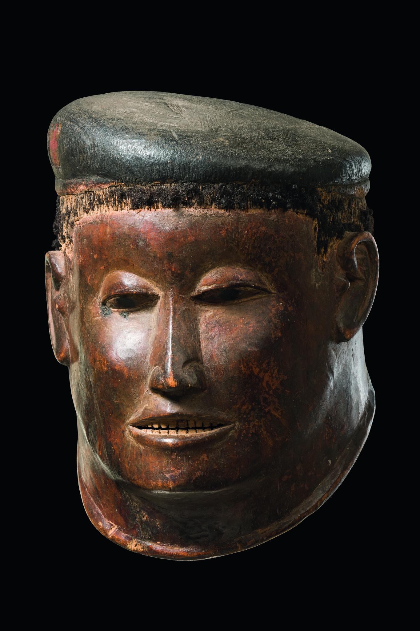 Helmmaske im Colonstil: Britischer Soldat mit Barett