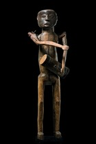 Big standing puppet figure, Tanzania