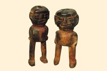 Pair of figures, Tanzania, Pare