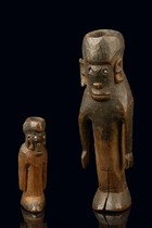 Mother and child figure, Tanzania, Shambala