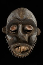 "Two deformation masks ""idiok ekpo"", Nigeria, Ibibio"