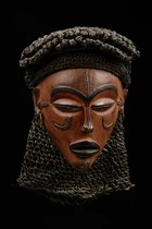 Maske &quot;mwana pwo&quot;, D. R. Kongo, Chokwe