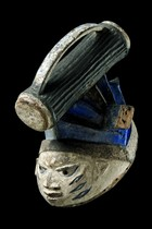 Maske &quot;gelede&quot;, Nigeria, Yoruba