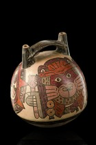 Double-spout vessel, Peru, Nazca