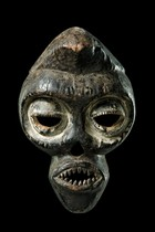 Anthropomorphic face mask, Nigeria, Ibibio