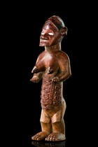 Small female figure &quot;mukuya&quot;, D. R. Congo, Bembe