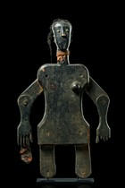 Anthropomorphic puppet, Ivory Coast, Abron