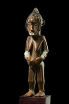 "Female figure ""mi iri nä"", Ivory Coast, Guro"
