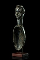 "Big ceremonial spoon ""wa ke mia"", Ivory Coast, Dan"