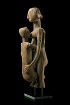 "Figurative part of an ""aloala"" grave post, Madagascar, Mahafaly"