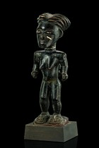 Female figure with child, Ivory Coast, Abron