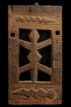 Architectural shrine fragment, Nigeria, Igbo