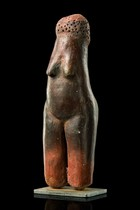 Standing female doll, South Africa, Sotho