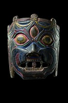 Buddhistic demon mask, Bhutan