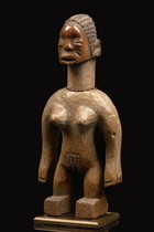 Female twin figure &quot;venavi&quot;, Ghana, Ewe