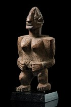 Standing female figure, Burkina Faso, Turka