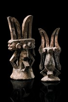 "Two figures ""ikenga"", Nigeria, Igbo"
