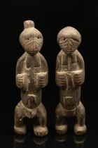 Pair of figures, Togo, Lamba